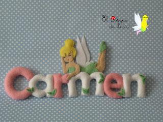 Nombre-en-fieltro-Carmen-campanilla-tinkerbell