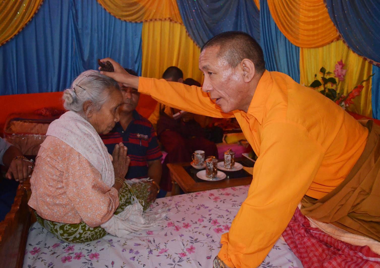 Khiyo Rigjin Chenmo Rimpoche passed away