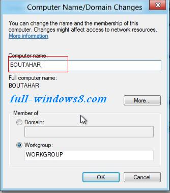 how to change air pop name