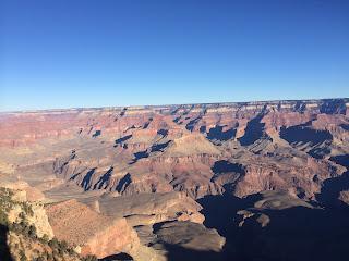 vista do grand canyon borda sul, arizona-eua