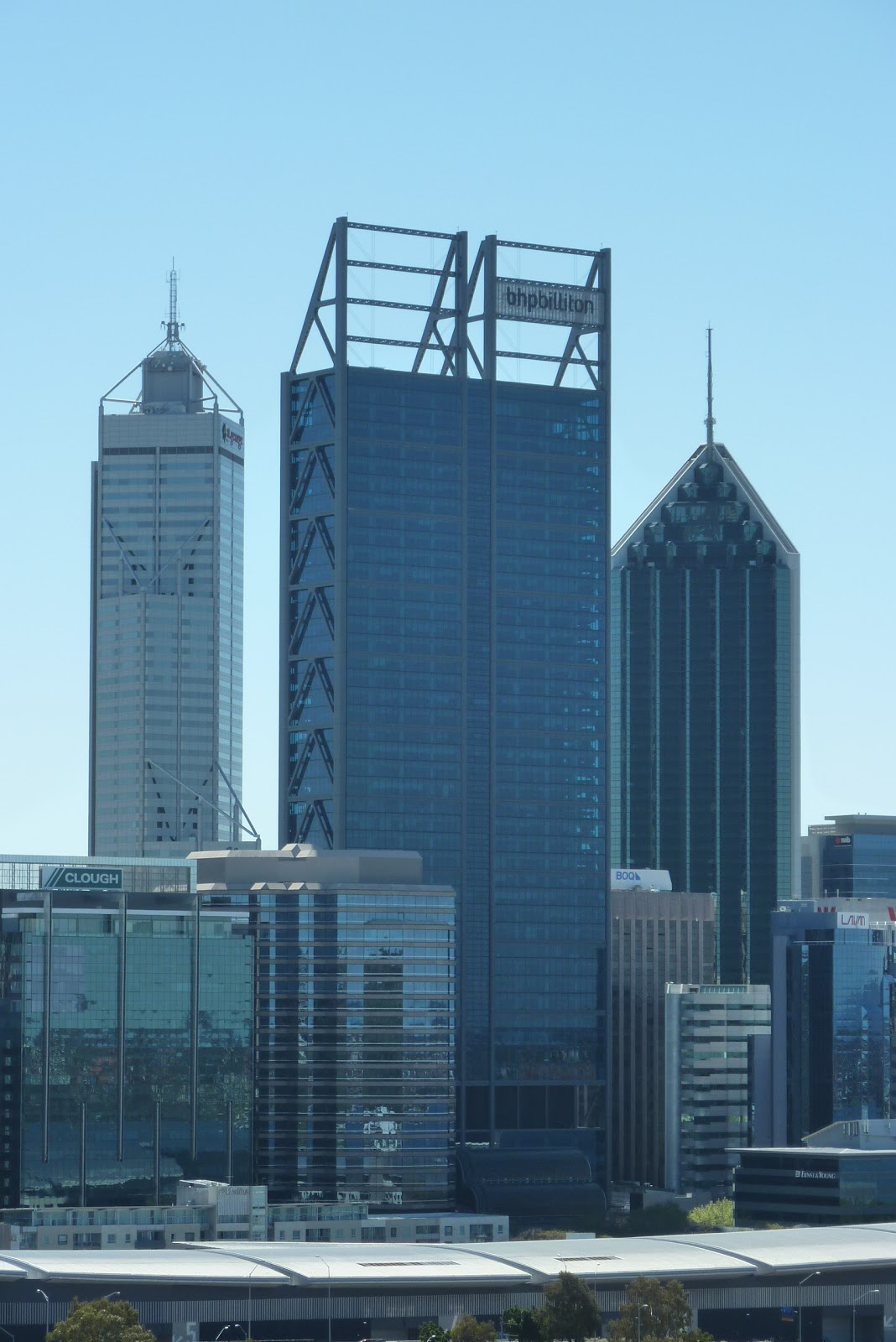 Bhp Tower Perth Green And Nabers Stars Perth Observer