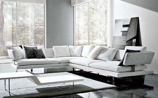 decora o sof de canto cores da casa