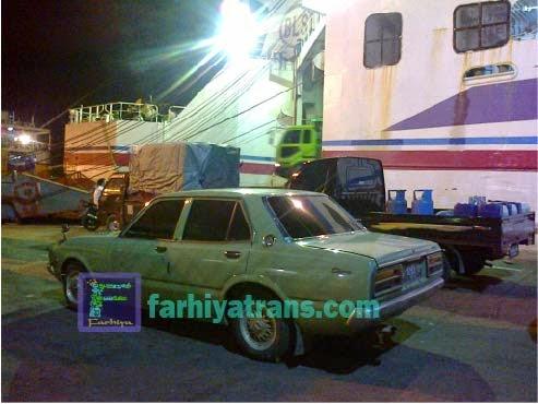 kirim mobil sedan dengan kapal roro dari surabaya