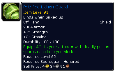 petrified lichen guard