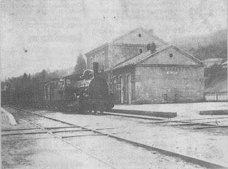 Estación del tren de Bejar AntigÜa