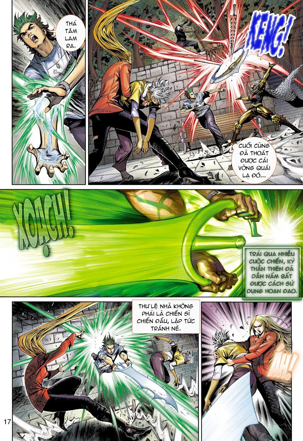 Thần Binh 4 chap 16 - Trang 17