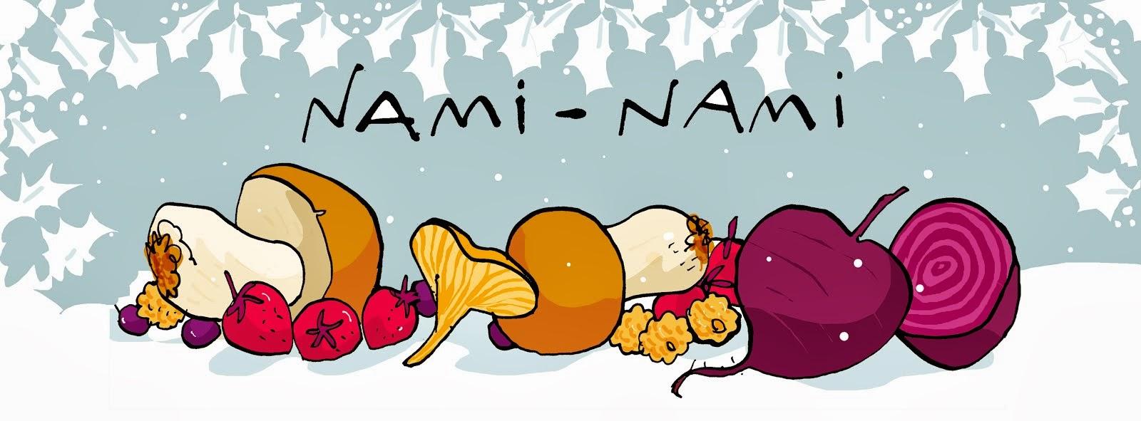 NAMI-NAMI: a food blog