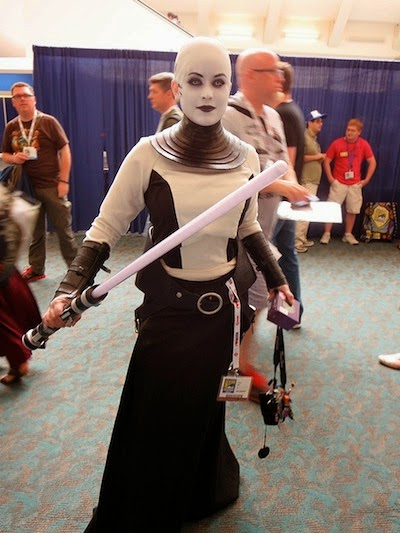Asajj Ventress Cosplay Costume