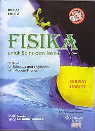 toko buku rahma: buku FISIKA UNTUK SAINS DAN TEKNIK, BUKU 3, pengarang serway jewett, penerbit  salemba empat