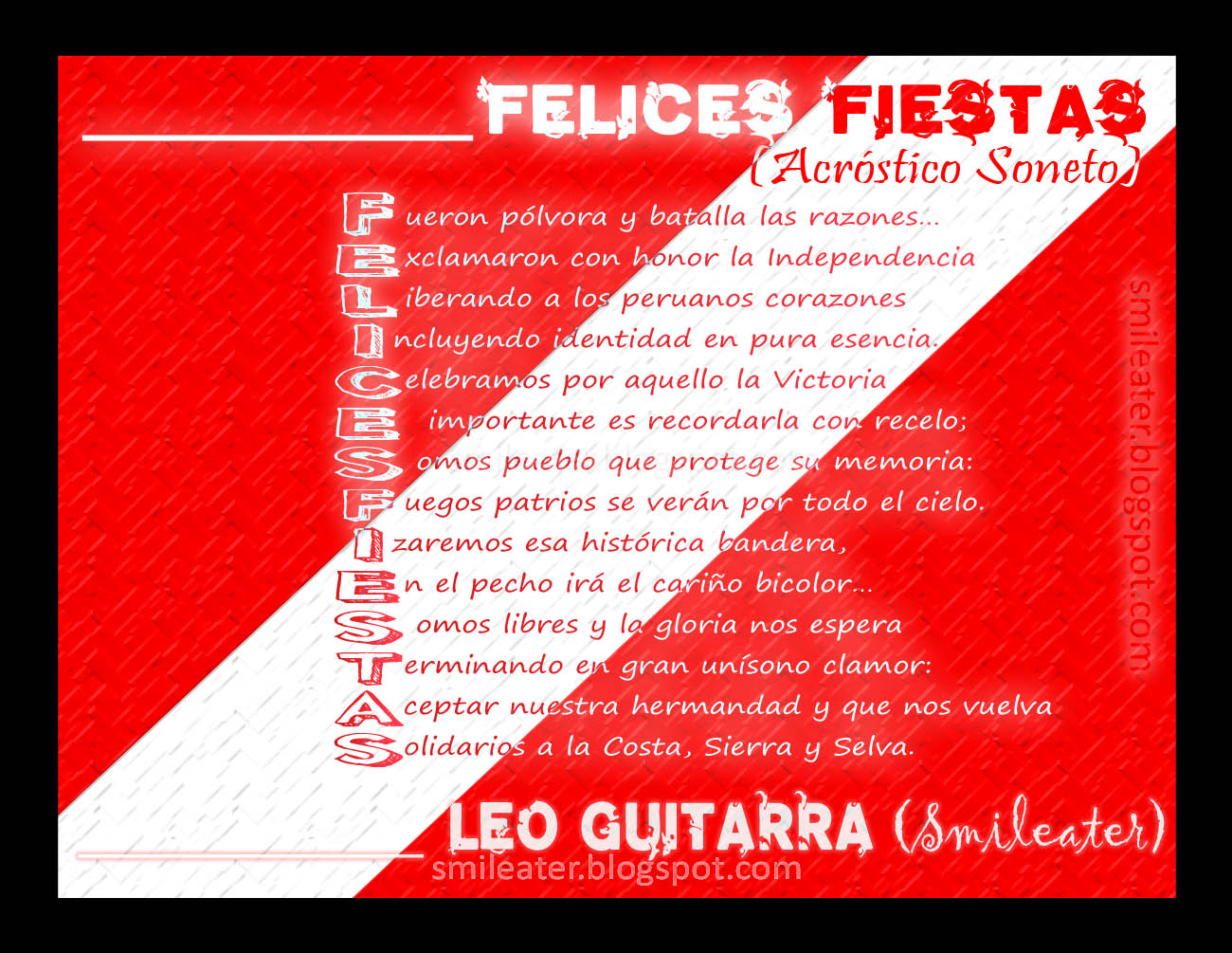 Fiestas Patrias De Peru
