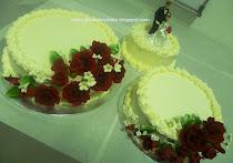 3-TIER WEDDING CAKE-BUTTERCREAM