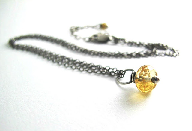 prosperity necklace wealth abundance citrine beth hemmila hint jewelry gem