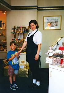 candy shop photo op
