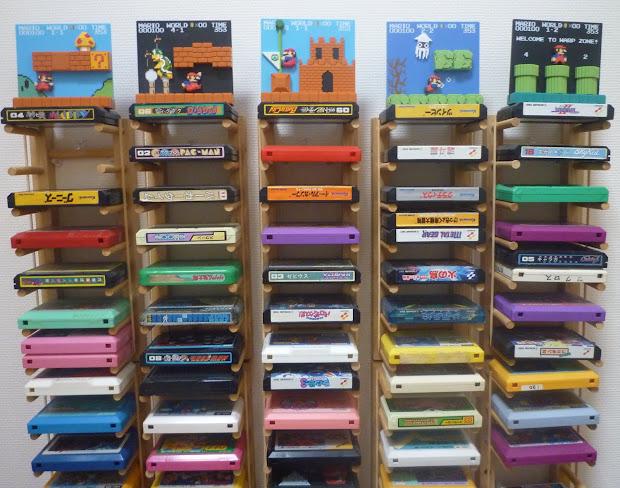 Charmant Board Game Storage Shelf