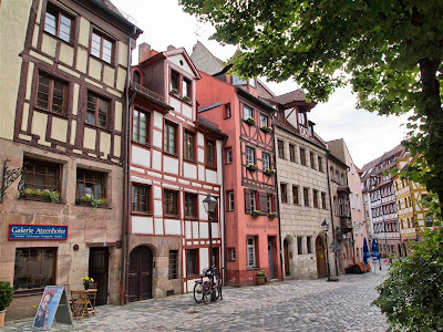 Weissgerbergasse - Casco Viejo de Núremberg