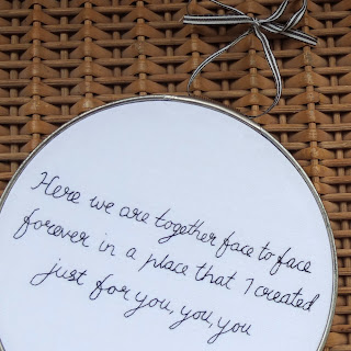 embroidered song lyrics jackson sisters