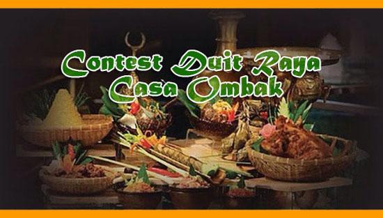Senarai Pemenang Contest Duit Raya Casa Ombak