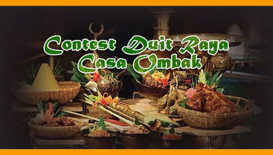 Contest Duit Raya Casa Ombak