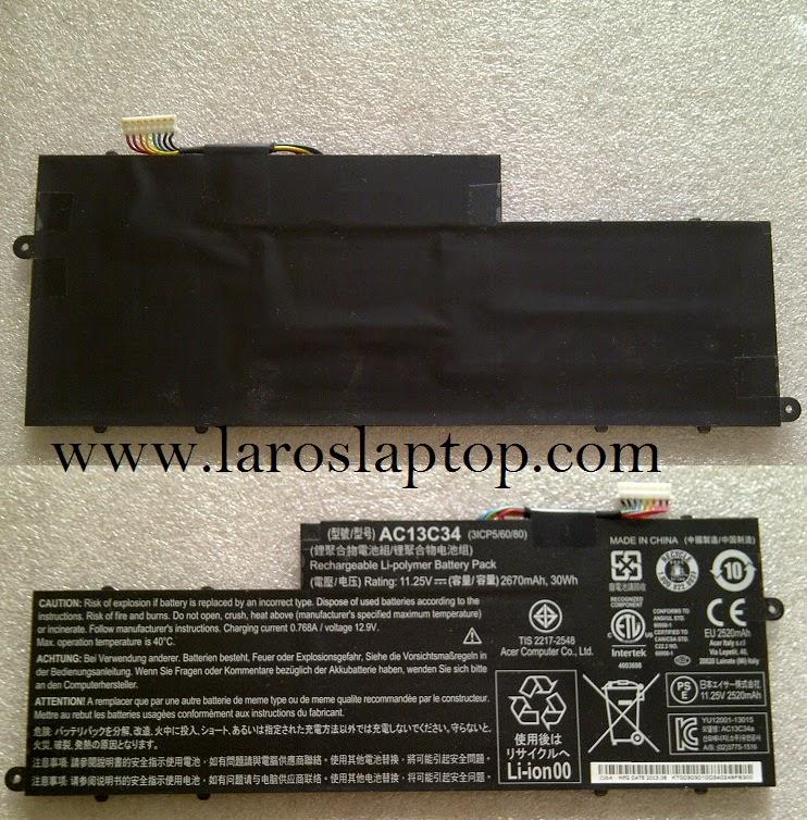 Baterai Laptop Acer Aspire V5 122 122P 132 Jual Battery Harga