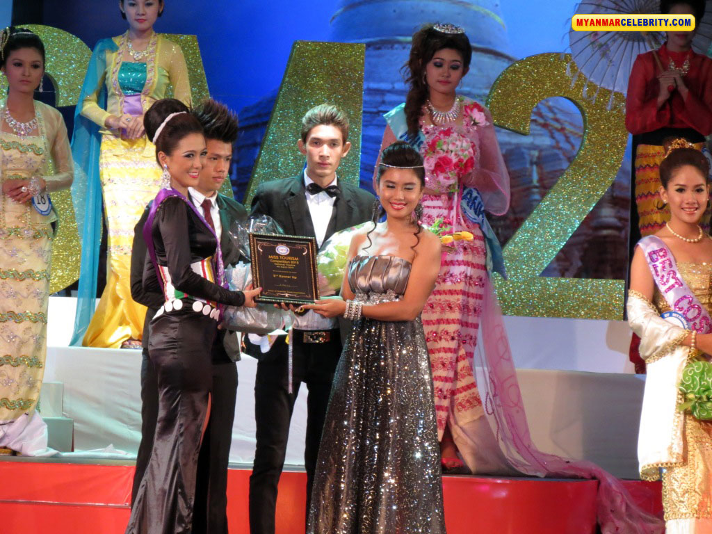 Miss Tourism for Myanmar 2012 Moe Thin Chae