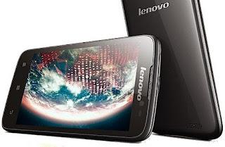 Lenovo A516 Android Jelly Bean Layar 4.5 inch Harga 1 Jutaan