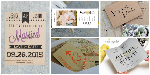 Free printable save the dates | DIY Wedding