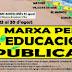 II Marxa per l'educació pública. Del 23 al 30 d'agost de 2014