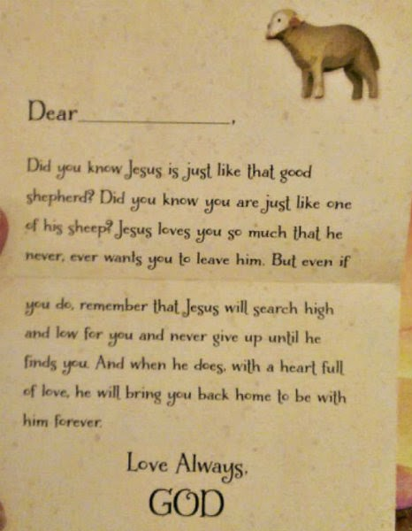 love letters from god sample letter