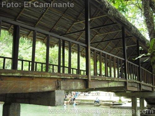 Puente sobre la naciente del río Tioyacu (Rioja, Perú) 4