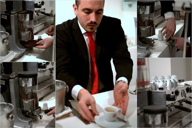 Coffee making is an art : I learned a few basics...