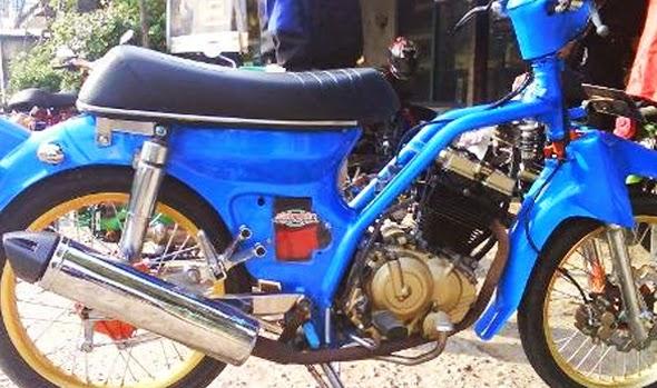modifikasi motor pitung tahun ini
