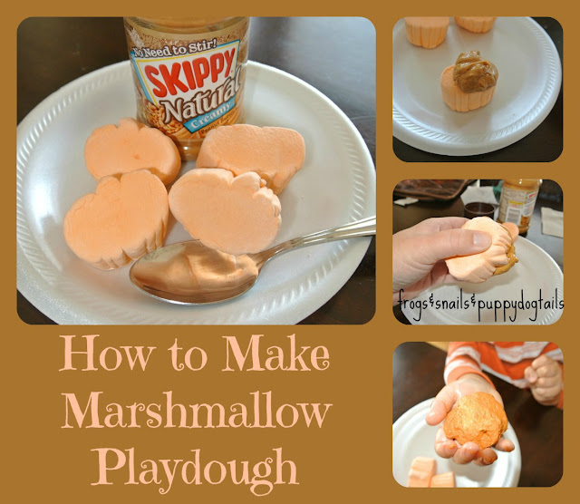 Marshmallow Playdough-edible & fun