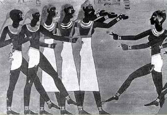 الرقص الفرعونى