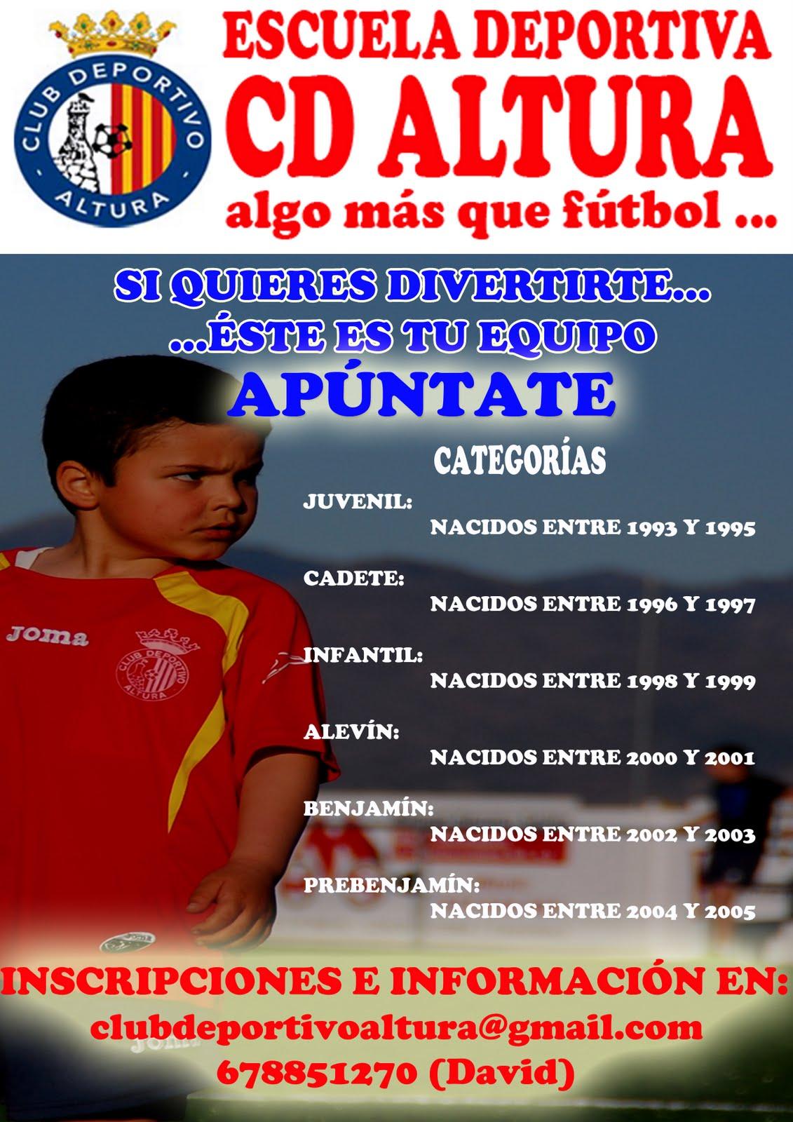 Escuela Deportiva del C.D. Altura