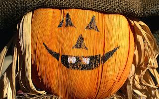 Funny Halloween Pumpkin HD Wallpaper