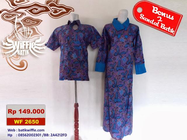 Batik Couple Ibu Gamis
