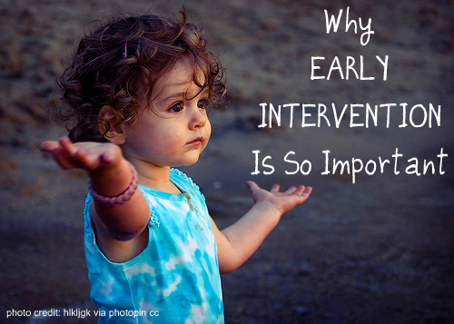 PLAY WITH JOY, LLC: Why Early Intervention Is So Important