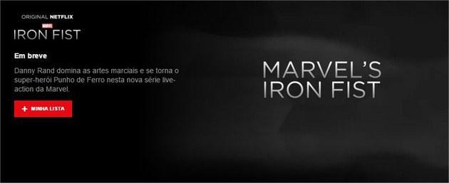Punho de Ferro Marvel