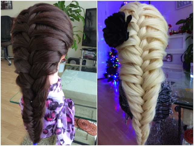 Beauty hairstyle - Kłos dobierany