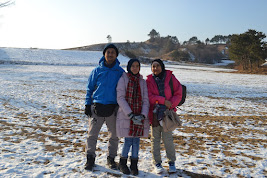 My family and I @ South Korea