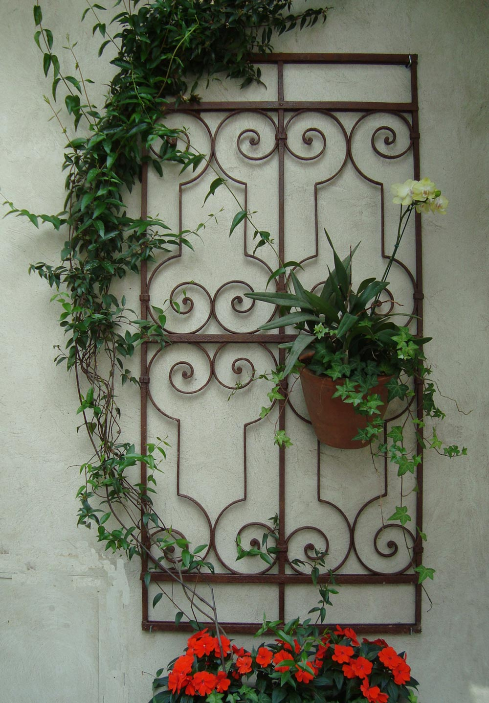 enfeites para jardim de ferro:Blog da Elisa Ávila: Vasos de parede