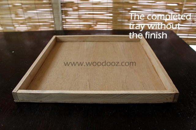 Serving tray tutorial