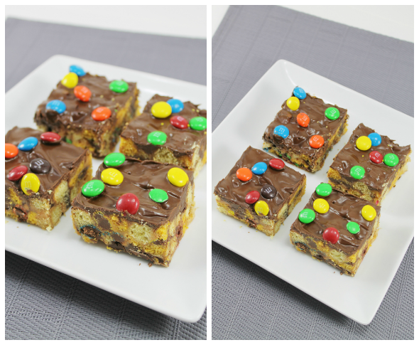 Monster Cookie inspired bars - sooo good!