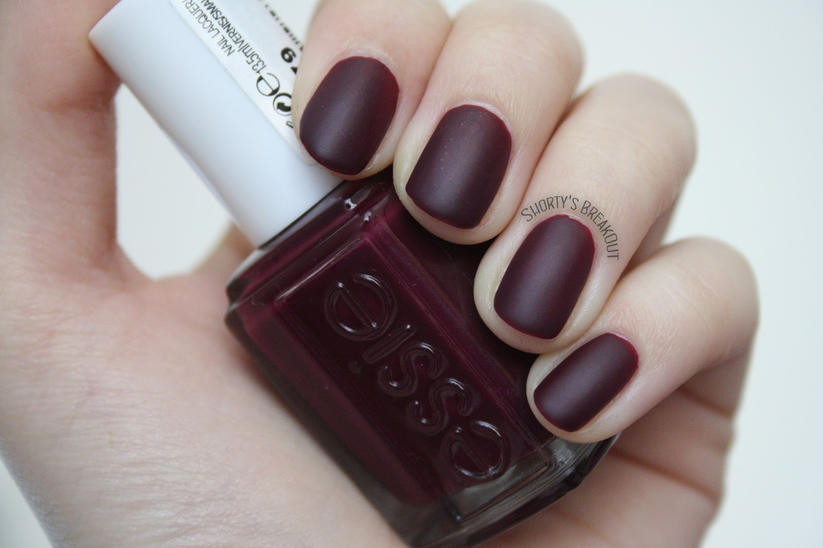 shortys breakout notd essie in the lobby matte. Black Bedroom Furniture Sets. Home Design Ideas