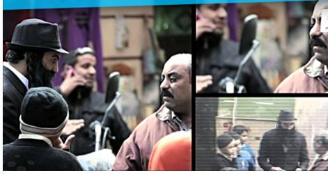 """بالفيديو.. شاهد رد فعل المصرين عندما دخل شخص """"يهودي"""" يسأل عن معبد في مصر!!"""