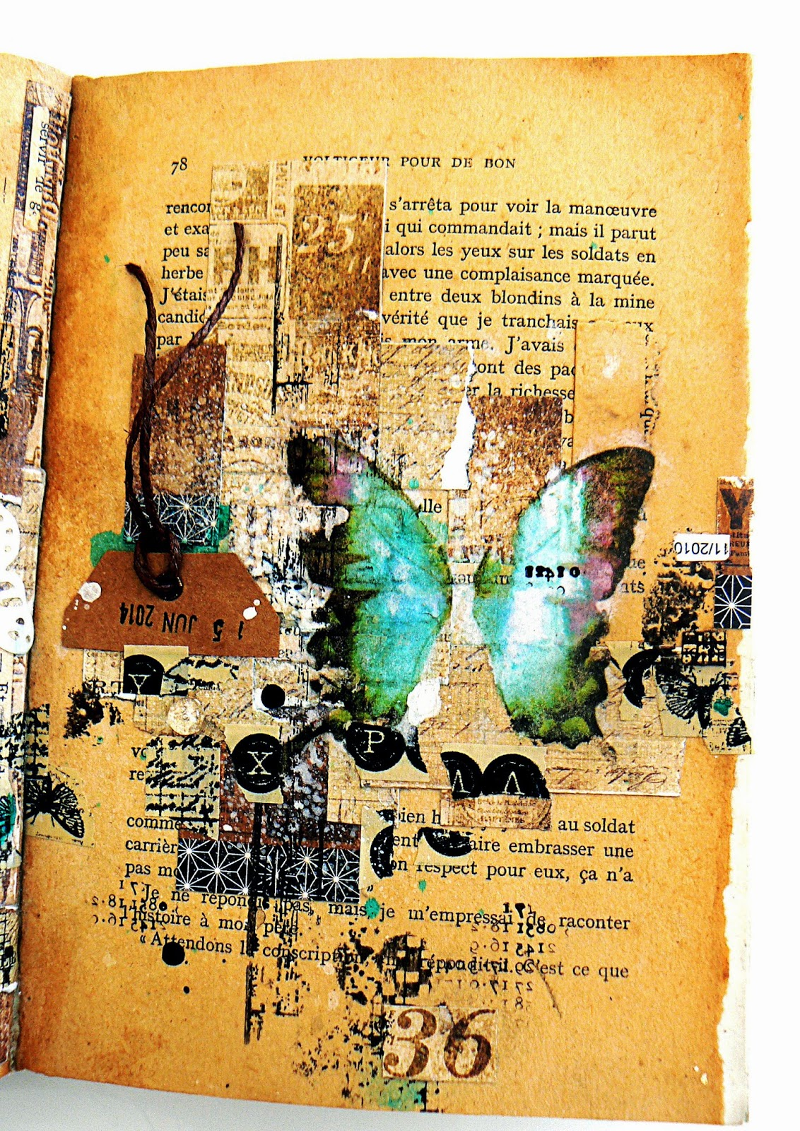 Art journal episode 6 partiesdescrap for Art et decoration revue