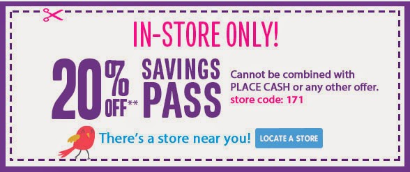 Children's Place Printable Coupon