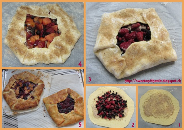 Sweet and That's it: Berry (Nectarine) Galette - Baking with Julia
