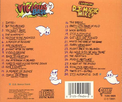 Vicious Base & D.J. Magic Mike – Back To Haunt You! (1991) (320 kbps)
