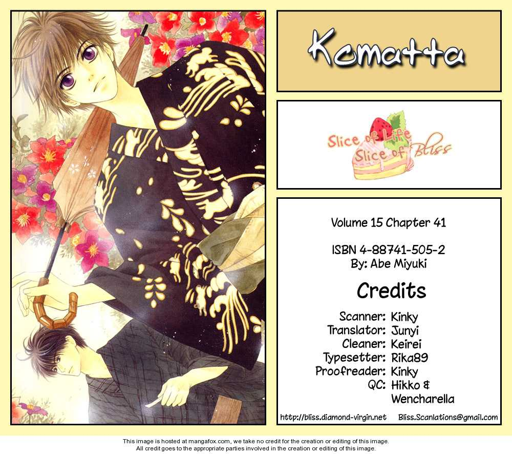 Komatta Toki Ni Wa Hoshi Ni Kike! Vol.15 Ch.1 page 1.html at www.Mangago.me